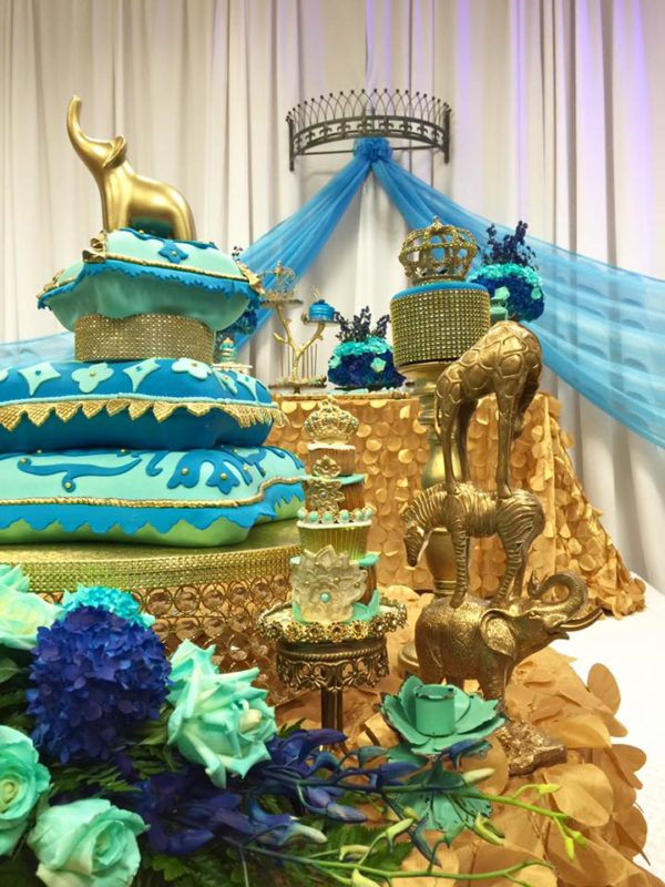 royal-moroccan-prince-baby-shower-animals
