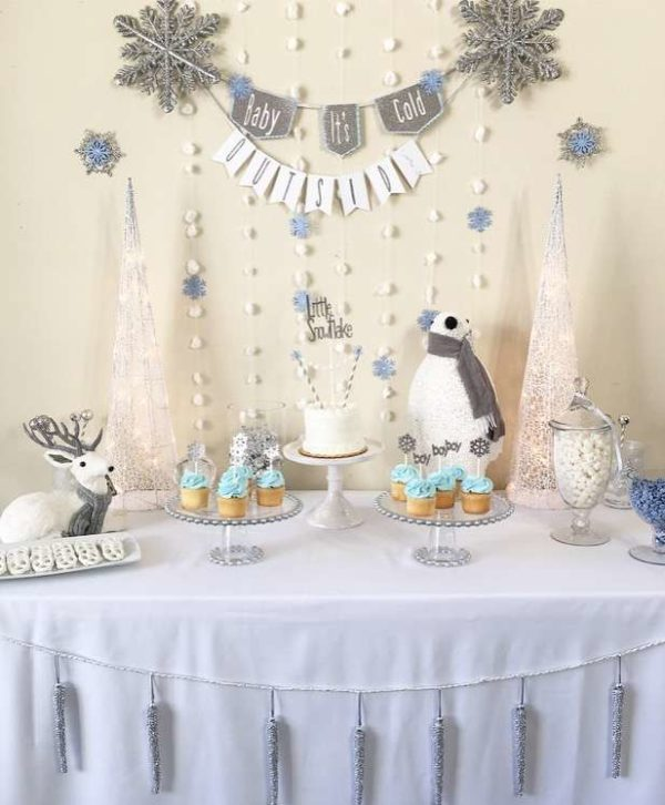 silver-and-white-snowy-baby-shower-cupcakes