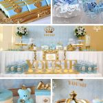 Blue And White Royal Baby Shower