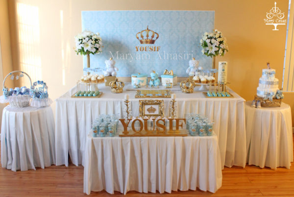 blue-and-white-royal-baby-shower-buffet