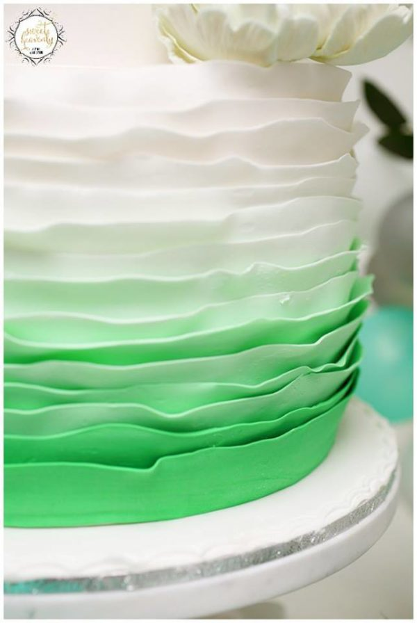 flowery-green-mint-and-white-baby-shower-cake