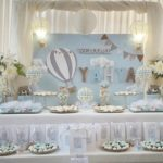 Air Balloon Themed Baptism