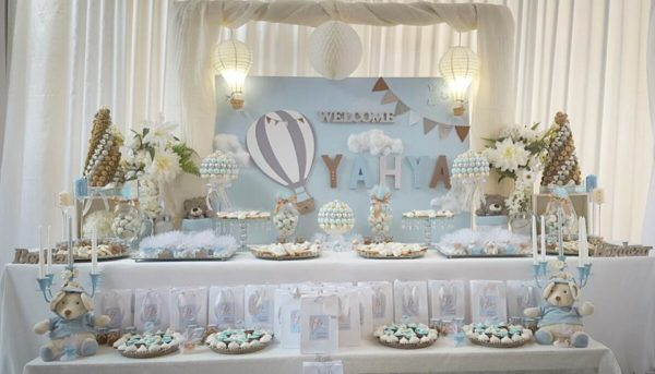 air-balloon-themed-party-buffet