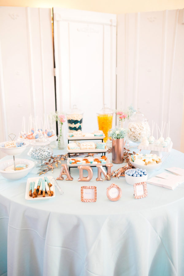 coed-pantone-baby-shower-treat-table