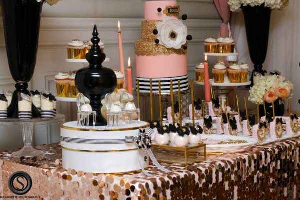 glamourous-baby-love-shower-dessert-table