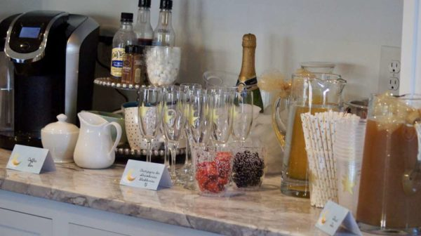 shimmering-twinkle-twinkle-baby-shower-beverage-table