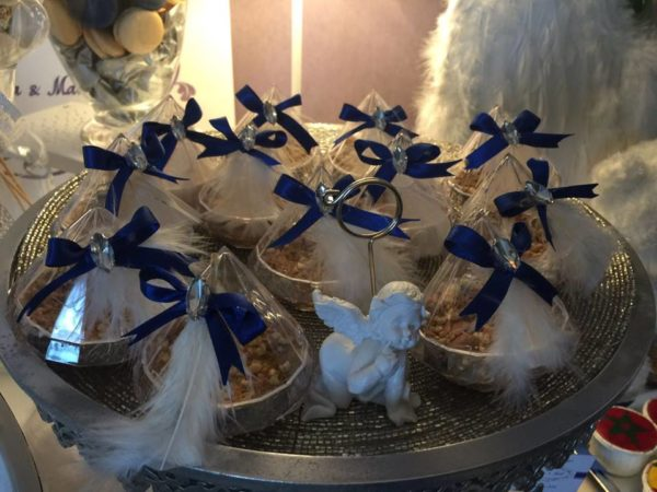 angelic-royal-blue-newborn-baby-shower-feathered-snacks