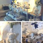 Angelic Royal Blue Baby Shower