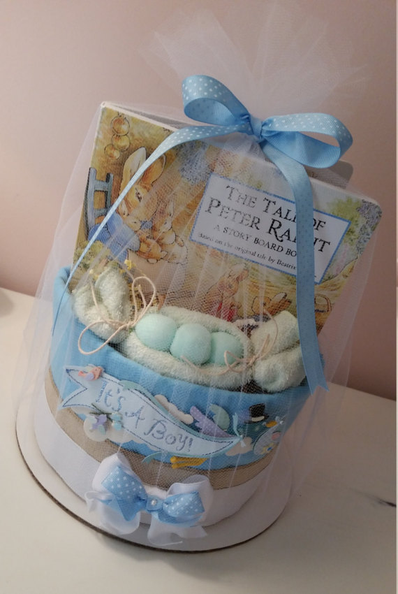 peter-rabbit-baby-shower-diaper-cake-peter-rabbit-baby-shower