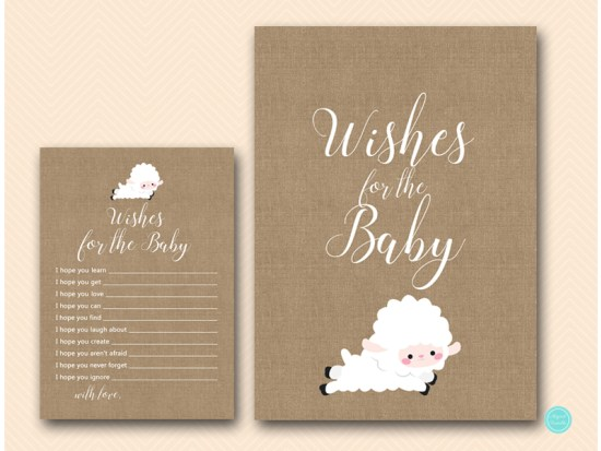 tlc504-wishes-for-baby-sign-little-lamb-baby-shower-gae