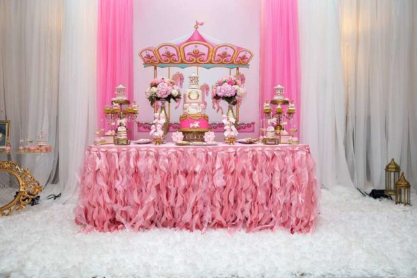 carousel-in-pink-baby-shower-dessert-table