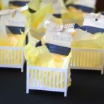 Golden And White Baby Shower
