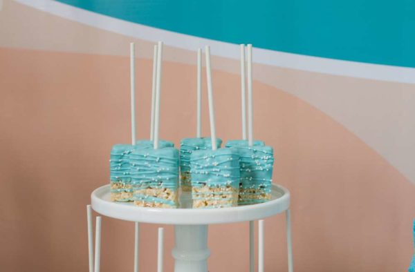 surfing-baby-on-board-shower-rice-krispy-treats