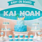Surfing Baby On Board Shower