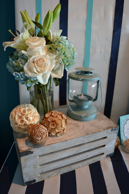nautical-whale-baby-shower-floral-decor