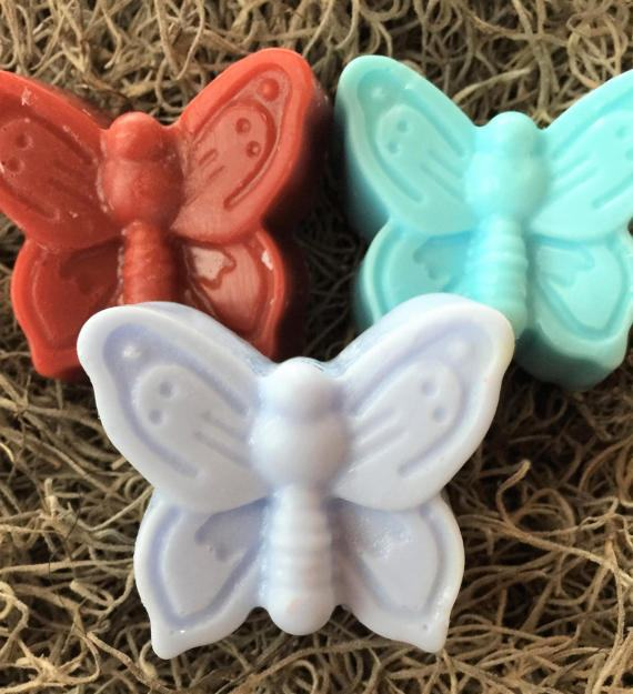 butterfly soap party favors