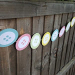 Cute as a Button Baby Shower Ideas