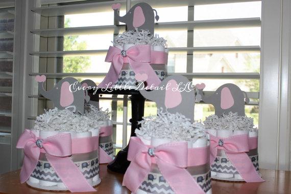 elephant diaper cakes