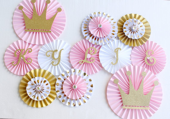 pinwheel princess backdrop
