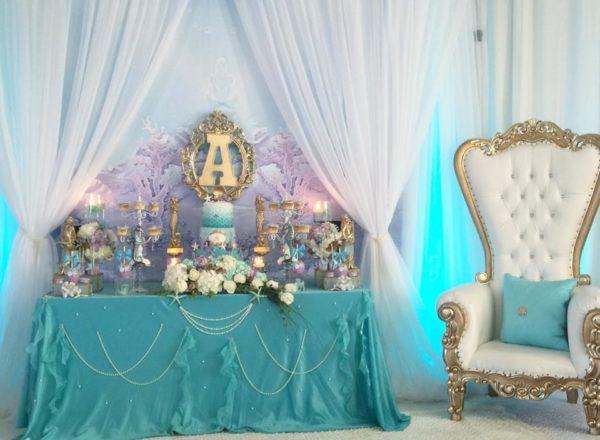 beautiful-golden-mermaid-shower-buffet-chair
