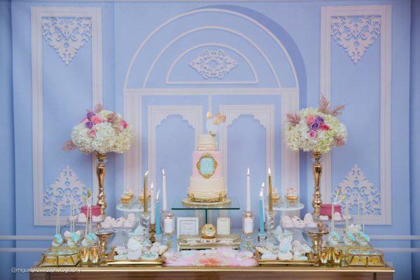 elegant-marie-antoinette-baby-shower-dessert-table