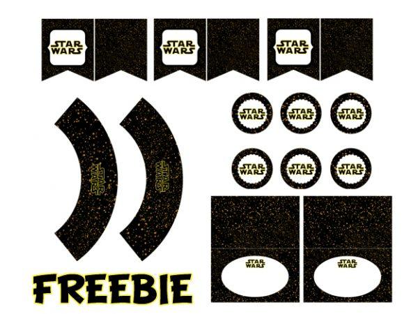 FREE StarWars Party Printable