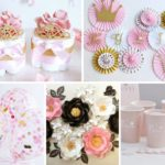 Pink and Gold Princess Baby Shower Collection!