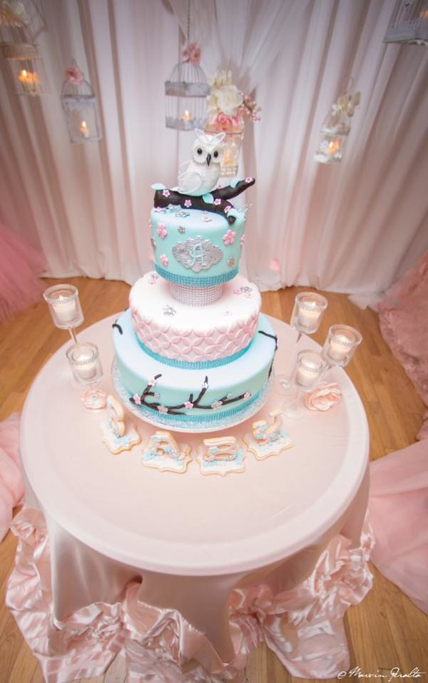peach-and-blue-owl-baby-shower-cake-table