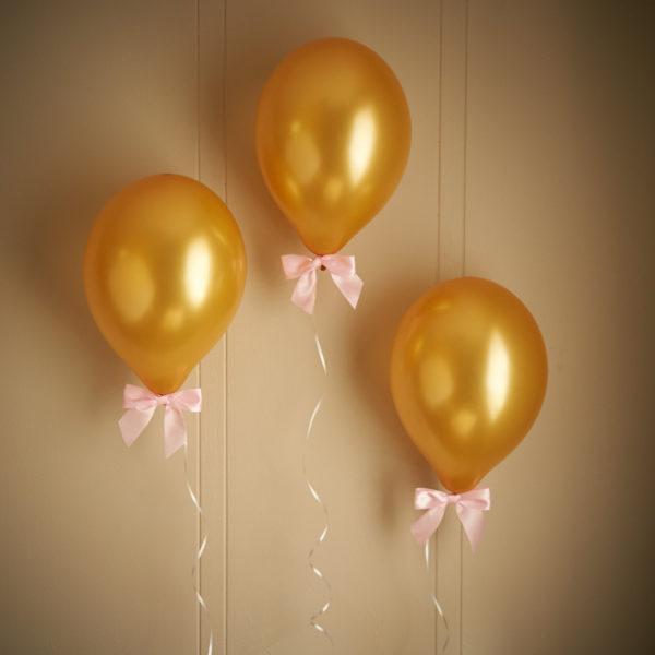 princess-baby-shower-balloons-gold-pink-bows