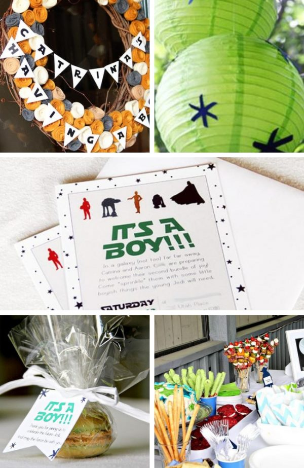 Star Wars Baby Shower inspiration and photos