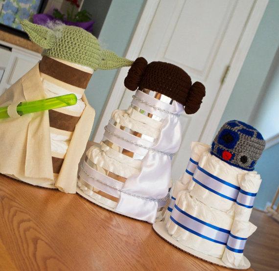 Star Wars Diaper Cake