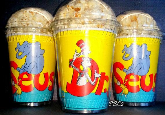 Dr. Seuss Popcorn Cups