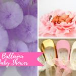 Ballerina Baby Shower Inspiration Board