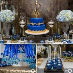 Royal Blue And Gold Prince Shower