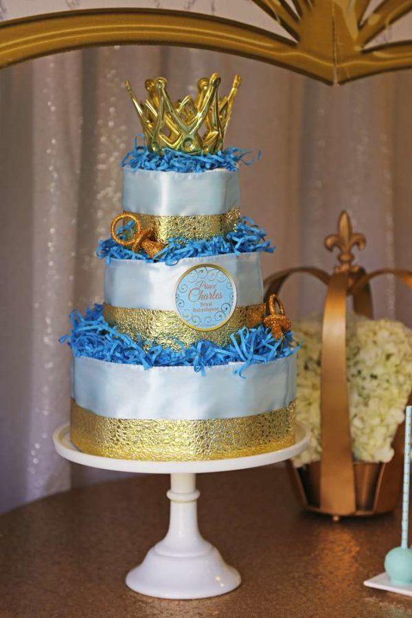 sheek-royal-prince-baby-shower-diaper-cake-golden