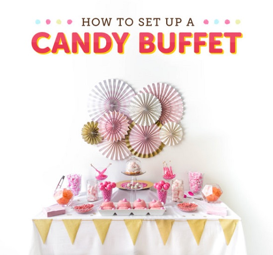 DIY How to Set Up a Candy Buffet