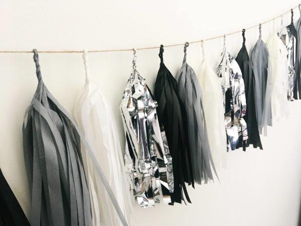 grey-black-silver-white-tissue-paper-tassel-garland