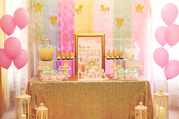 Sparkle Unicorn Baby Shower Baby Shower Ideas Themes