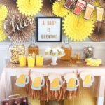 Baby Is Brewing | Tea Party Inspiration Board