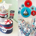 Ahoy! Nautical Baby Shower Inspiration Board