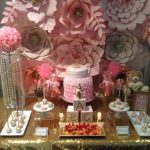 Glamorous Pink Floral Baby Shower