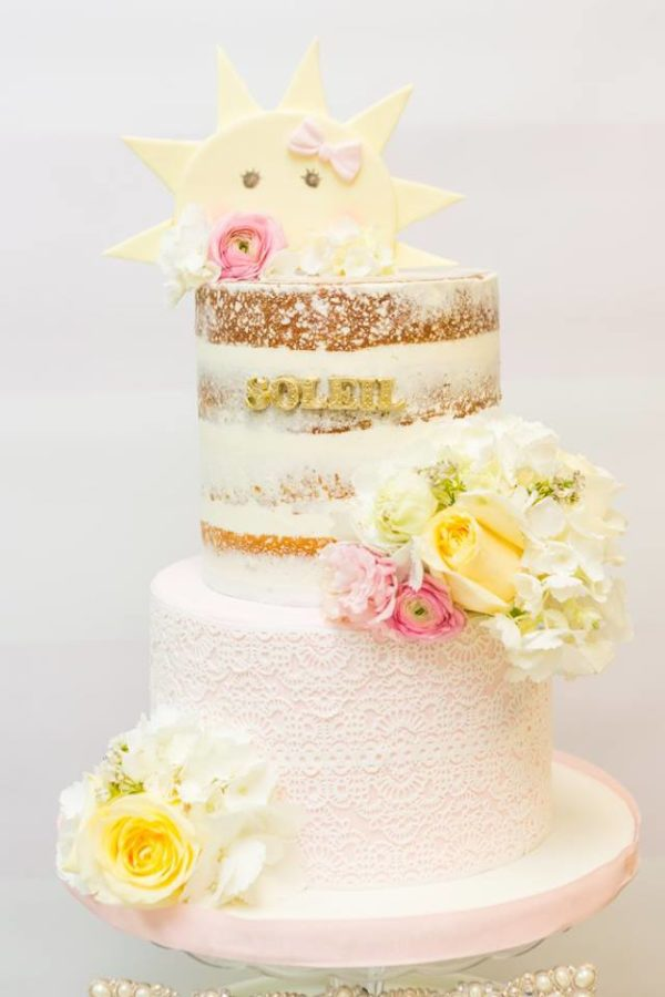 pastel-you-are-my-sunshine-shower-cake