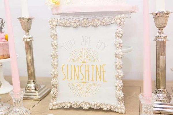 pastel-you-are-my-sunshine-shower-framed-art