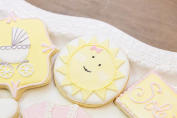 pastel-you-are-my-sunshine-shower-sun-cookies