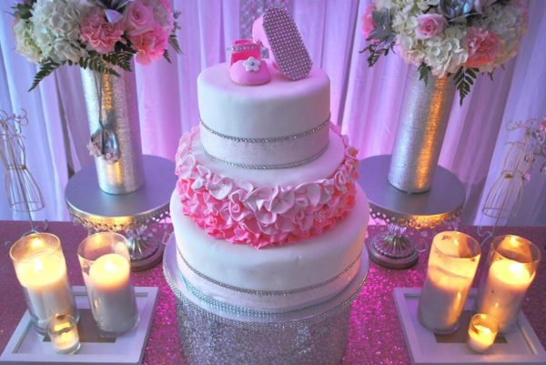 pretty-pink-ballerina-baby-shower-cake