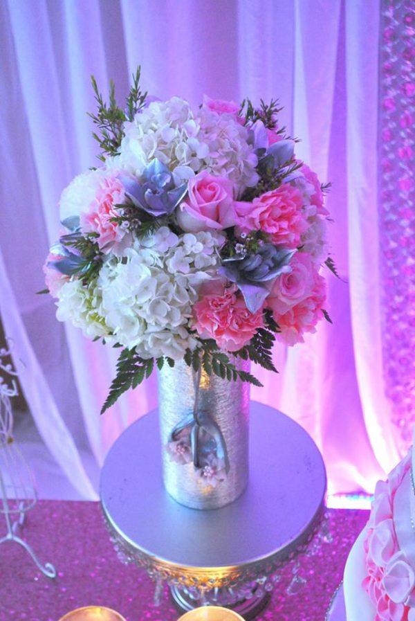 pretty-pink-ballerina-baby-shower-flower-bouquet