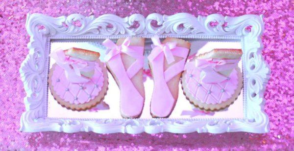 pretty-pink-ballerina-baby-shower-sugar-cookies