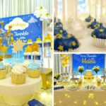 Twinkle Twinkle Little Star Golden Baby Shower