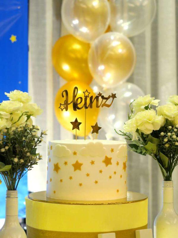twinkle-twinkle-little-star-golden-baby-shower-cake