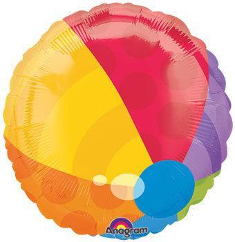 beachball balloon
